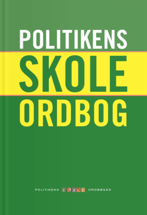 Politiken Danish school dictionary